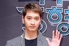 2PMチャンソン、お洒落ロングジャケットで登場!映画『トクス里の5兄弟』制作発表会