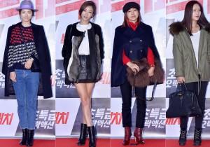イ・ヨニ、G.NA、ファン・シネ、ファン・ジョンウム、個性を生かしたスタイルで登場!映画『ビッグマッチ』VIP試写会