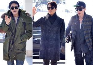 俳優クォン・サンウ、ソン・スンホン、イ・ドンウク、プレゼンターとして参加!「2014 Mnet Asian Music Award」空港ファッション