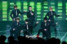 CROSSGENE、ブラックスーツでパワフルステージ披露!SBS MTV『THE SHOW:ALL ABOUT K-POP』