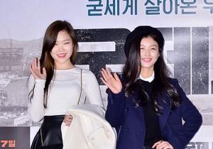 イ・スヒョン&キム・ユジョン、きらめく笑顔で登場!映画『国際市場』VIP試写会