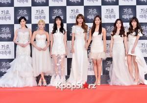 少女時代、ホワイトドレスで会場を魅了!『KBS歌謡大祝祭』レッドカーペット
