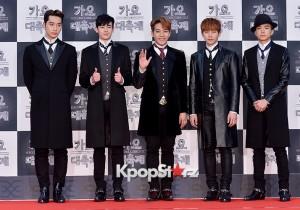 2PM、フォーマルスタイルでお洒落上級者アピール!『2014 KBS歌謡大祝祭』レッドカーペット