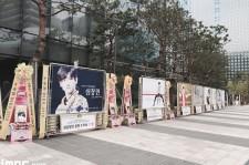 東方神起チャンミン、ドラマ制作発表会で過去最高数の米花輪を記録