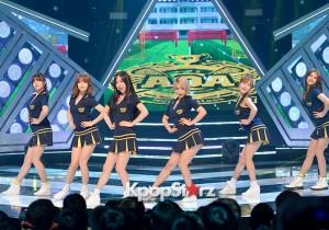 AOA、MBC『SHOW CHAMPION』に出演!