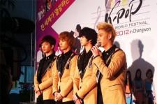 東方神起、MBLAQ、B.A.Pら出演 「K-POPワールド・フェスティバル」ステージ・リハーサル写真