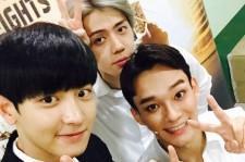 EXO チャンヨル&セフン、ミュージカル『イン・ザ・ハイツ』公演中のチェンを応援!