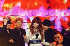 HyunA's Comeback Stage at MCountdown Performance for 'Don`t Fall Apart' on November 1st, 2012