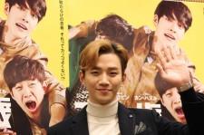 2PMジュノ、初主演映画『二十歳』の記者会見に登場!