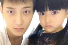 EXOを離れたタオ、パパになる?!黒髪の女の子とのツーショット公開