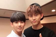 MYNAMEセヨン、2PMのコンサート会場でテギョンとツーショット!「やはりカッコいい」