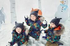 """ソン・イルグクの三つ子、冬のファッショングラビア公開!""""宇宙服みたいでキュート"""""""