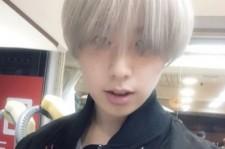 CODE-Vウシク、髪を銀色に変えツアーの準備OK!