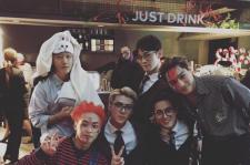 EXOメンバーら、ハロウィンの夜を満喫?!