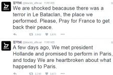 きゃりーぱみゅぱみゅ&Block B、パリ同時多発テロにSNSで哀悼の意を表明