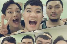 EXO チェン、ヤン・ドングンらミュージカル出演陣と撮ったお茶目なセルフショット公開!