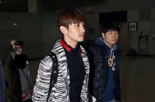 TVXQ at Incheon Airport Leaves for 'SMTOWN LIVE WORLD TOUR III in SINGAPORE'