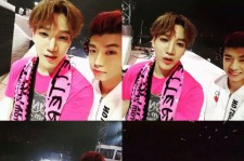 2PM Jun. K、幕張公演にメンバーウヨンが登場!