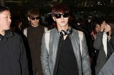 TVXQ Wears Chic Sunglasses as they Leave for MBC