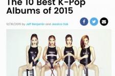 米ビルボード選定「2015 ベストK-POPアルバム10」公開!