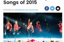 BIGBANG、防弾少年団ほか、米ビルボード選定「2015年K-POPベストソング20」公開!