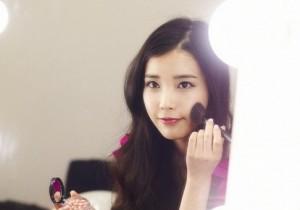 IU、人気化粧品ブランドのイメージキャラクターに