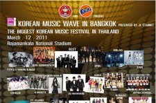 T-ARA、SHINee、2PM、AFTER SCHOOLの追加出演決定「Korean Music Wave」