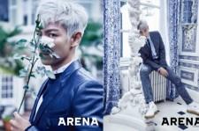 BIGBANG T.O.P、パリで撮影したグラビア公開!足の長さが際立つスーツルック