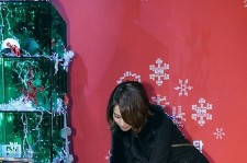 Lee Min Jung attends at Press Conference and Christmas Giving Event for Movie 'Tower'