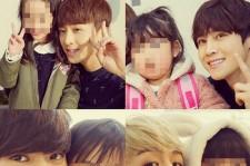 大国男児ヒョンミン、メンバーと子供たちとのキラキラ写真公開