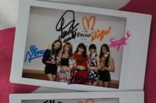 【読者限定プレゼント】CHERRSEEの直筆サイン入りチェキ写真(2名様)をリツイート&フォローでゲット!