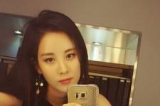 少女時代ソヒョン、赤リップで魅惑的な美貌!セルフショット公開