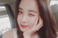 少女時代ソヒョン、ウィンクのセルフショット公開!中国へ出発