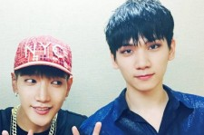 VIXXヒョギ、2PM Jun. KとVサイン!「いつも親切で優しい先輩」