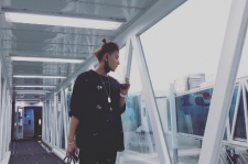 EXOを離れたタオ、韓国経由で久しぶりに来日!
