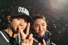 EXO チャンヨル、京セラドーム公演中に自撮りしたビハインド映像公開!