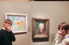 """防弾少年団V、シカゴの美術館で""""歴史的瞬間""""の記念ショット公開!"""