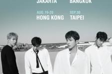 CNBLUEが2年ぶりのアジアツアーを開催!6月のソウルから9月の台北までを彩る!