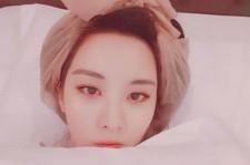 少女時代ソヒョン、ベッドで撮ったキュートなセルフショット公開!