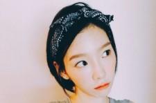 少女時代テヨン、バンダナ&オレンジリップのおしゃれな夏スタイル公開!