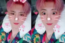 EXO チャンヨル、キュートなウサギに変身?!
