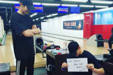 EXO チャンヨル、俳優チェ・テジュンとのボーリング対決に勝利する?!