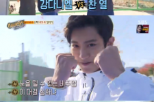 EXO チャンヨル vs Wanna One カン・ダニエル、障害物競走の勝者は?!