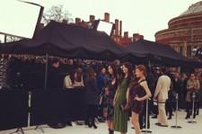 少女時代3人、英バーバリーファッションショー出席の様子