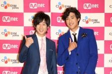 コン・テユ&キム・ジニョプ、Mnet加入者イベントに登場