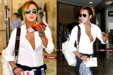 チャン・グンソクのますます大胆になった空港ファッションが話題