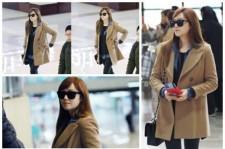 少女時代ジェシカ、シティルックな空港ファッションが注目の的