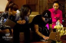 インテル「Ultrabook」プロジェクトで2NE1登場