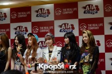 BEAST、4Minute、G.NA「AIA K-POP 2013 Live in KL」出演に向け記者会見に出席
