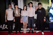 2PMニックン、チャンソン、ウヨン、JYPパク・ジニョン、Wonder Girlsイェウンが出席、映画『監視者たち』VIP試写会